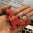 Download free STL file Baby T-rex Flexy Keychain • Template to 3D print, hardprint2018