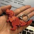Télécharger fichier STL gratuit Porte-clés Flexy Baby T-rex • Plan à imprimer en 3D, hardprint2018