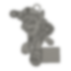 Download free 3D printer model Pat Patrol Paw Patrol Chase Pendant for, Jgood08400