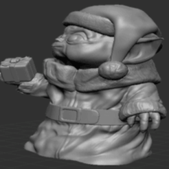 Download 3D print files Baby Yoda Christmas outfit, glowinghot420review
