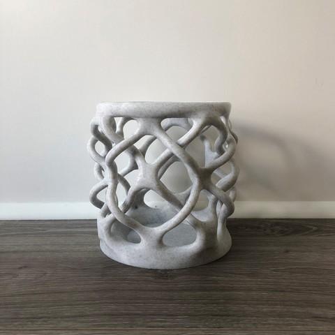 Download free 3D printer designs Bio-Lattice Cup, michaelmplatt