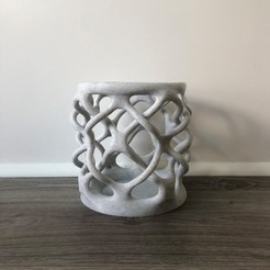 Free STL file Bio-Lattice Cup, michaelmplatt