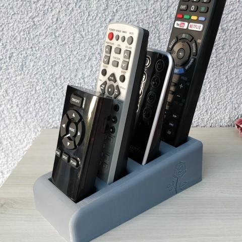 Descargar archivos STL gratis Alcance del mando a distancia, ryangille