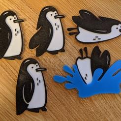 Télécharger plan imprimante 3D Pingouins, Coltron