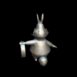 Download free 3D printer model Alicia White Rabbit, MundoFriki3D