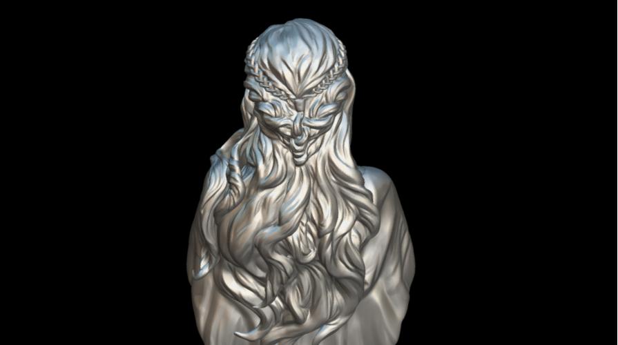 Screenshot_2019-09-09 Busto Daenerys - Download Free 3D model by MundoFriki3D ( MundoFriki3D)(6).png Download free STL file Daenerys Bust • 3D printable template, MundoFriki3D
