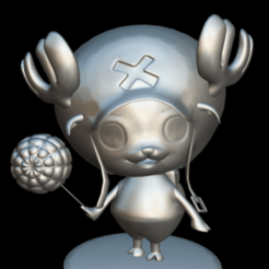 Download free 3D model Chopper Lollipop, MundoFriki3D