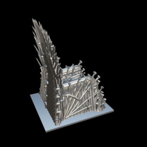 Screenshot_2019-09-09 Trono de hierro - Download Free 3D model by MundoFriki3D ( MundoFriki3D)(4).png Download free STL file Iron Throne • Model to 3D print, MundoFriki3D