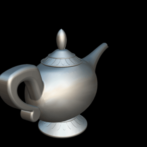 Screenshot_2019-09-09 Lampara Aladdin - 3D model by MundoFriki3D ( MundoFriki3D)(3).png Download free OBJ file Lamp Genius Aladdin • 3D printing model, MundoFriki3D