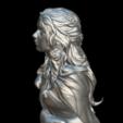 Download free 3D printing designs Daenerys Bust, MundoFriki3D