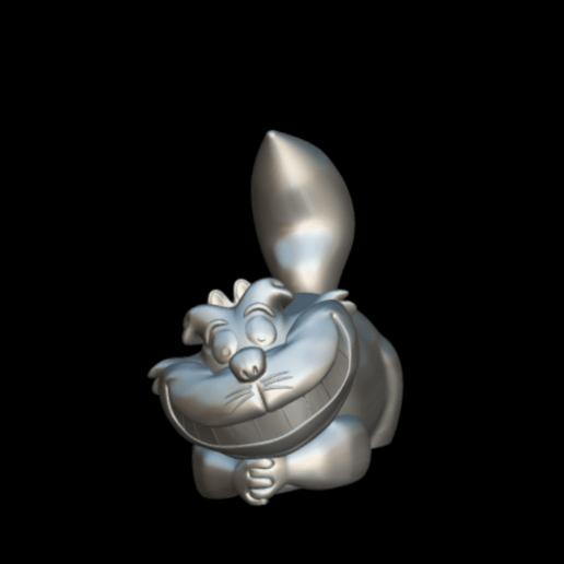 Screenshot_2019-09-09 Cheshire - Download Free 3D model by MundoFriki3D ( MundoFriki3D)(2).png Download free STL file Cheshire • 3D printer template, MundoFriki3D