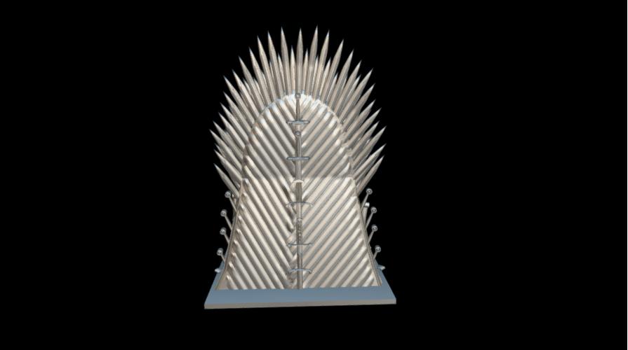 Screenshot_2019-09-09 Trono de hierro - Download Free 3D model by MundoFriki3D ( MundoFriki3D)(3).png Download free STL file Iron Throne • Model to 3D print, MundoFriki3D