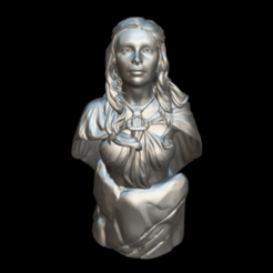Screenshot_2019-09-09 Busto Daenerys - Download Free 3D model by MundoFriki3D ( MundoFriki3D).png Télécharger fichier STL gratuit Buste Daenerys • Objet imprimable en 3D, MundoFriki3D