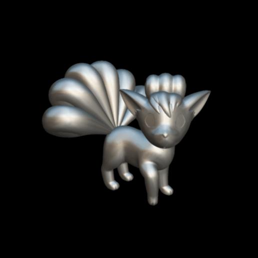 Screenshot_2019-09-09 Vulpix - Download Free 3D model by MundoFriki3D ( MundoFriki3D).png Download free STL file Pokémon Vulpix • 3D printing template, MundoFriki3D