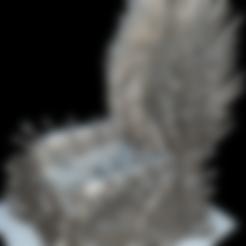 throne15cm.stl Download free STL file Iron Throne • Model to 3D print, MundoFriki3D