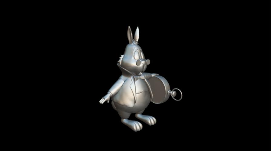 Screenshot_2019-09-09 Conejo Blanco - Download Free 3D model by MundoFriki3D ( MundoFriki3D)(3).png Download free OBJ file Alicia White Rabbit • 3D printing template, MundoFriki3D