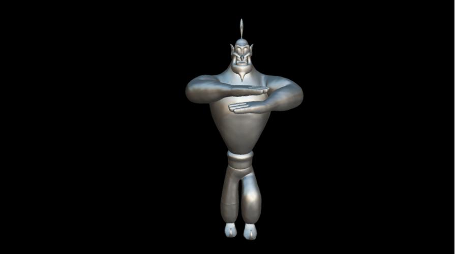 Screenshot_2019-09-09 Genio - 3D model by MundoFriki3D ( MundoFriki3D).png Télécharger fichier OBJ gratuit Le génie Aladin • Plan pour imprimante 3D, MundoFriki3D