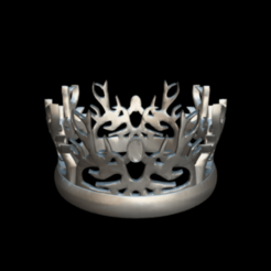 Screenshot_2019-09-09 Corona del rey, juego de tronos - Download Free 3D model by MundoFriki3D ( MundoFriki3D).png Télécharger fichier STL gratuit Crown of the King, jeu des Trônes • Design à imprimer en 3D, MundoFriki3D