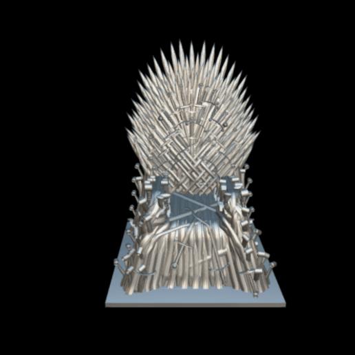 Screenshot_2019-09-09 Trono de hierro - Download Free 3D model by MundoFriki3D ( MundoFriki3D).png Download free STL file Iron Throne • Model to 3D print, MundoFriki3D