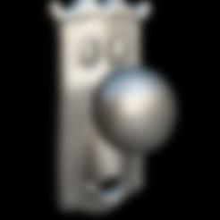 pomorefinat.obj Télécharger fichier OBJ gratuit M. Alicia Doorknob • Objet pour impression 3D, MundoFriki3D