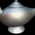 Download free 3D printing files Lamp Genius Aladdin, MundoFriki3D