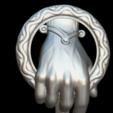 Download free 3D printing templates King's hand, MundoFriki3D
