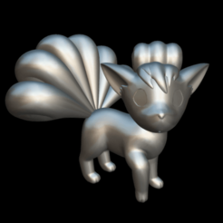 Download free 3D print files Pokémon Vulpix, MundoFriki3D