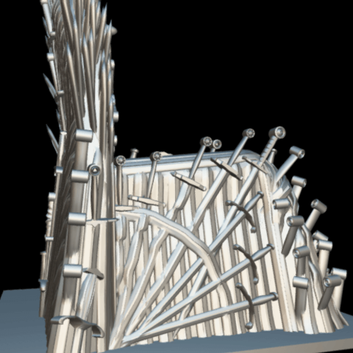 Screenshot_2019-09-09 Trono de hierro - Download Free 3D model by MundoFriki3D ( MundoFriki3D)(5).png Download free STL file Iron Throne • Model to 3D print, MundoFriki3D