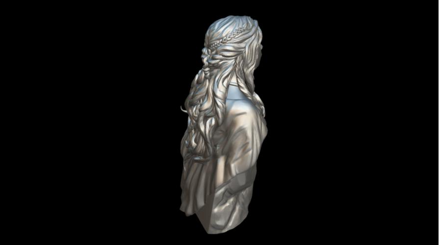 Screenshot_2019-09-09 Busto Daenerys - Download Free 3D model by MundoFriki3D ( MundoFriki3D)(3).png Download free STL file Daenerys Bust • 3D printable template, MundoFriki3D