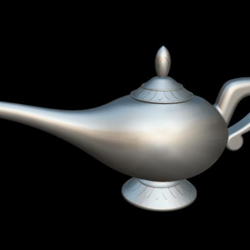 Screenshot_2019-09-09 Lampara Aladdin - 3D model by MundoFriki3D ( MundoFriki3D).png Download free OBJ file Lamp Genius Aladdin • 3D printing model, MundoFriki3D