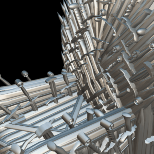 Screenshot_2019-09-09 Trono de hierro - Download Free 3D model by MundoFriki3D ( MundoFriki3D)(7).png Download free STL file Iron Throne • Model to 3D print, MundoFriki3D