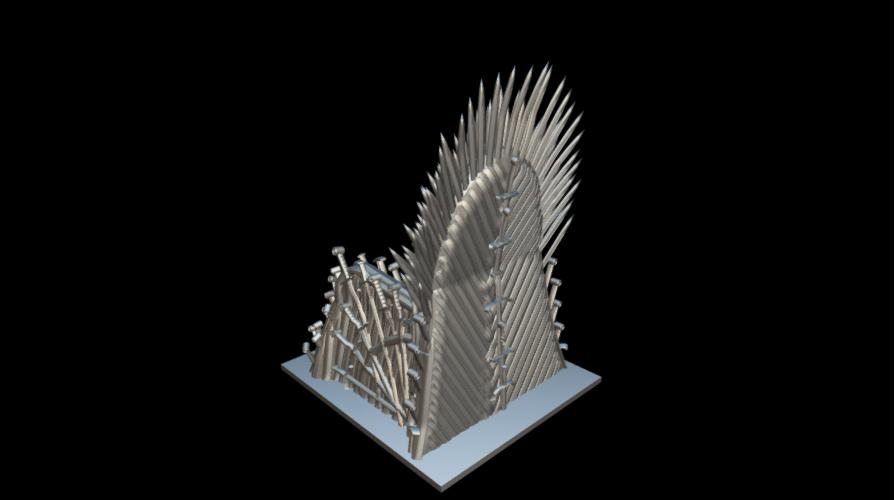 Screenshot_2019-09-09 Trono de hierro - Download Free 3D model by MundoFriki3D ( MundoFriki3D)(2).png Download free STL file Iron Throne • Model to 3D print, MundoFriki3D