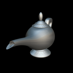 Screenshot_2019-09-09 Lampara Aladdin - 3D model by MundoFriki3D ( MundoFriki3D)(1).png Download free OBJ file Lamp Genius Aladdin • 3D printing model, MundoFriki3D