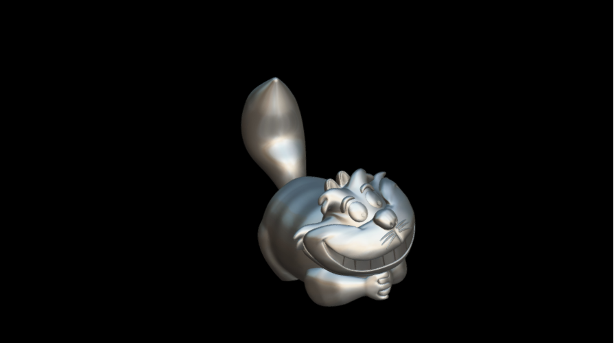 Screenshot_2019-09-09 Cheshire - Download Free 3D model by MundoFriki3D ( MundoFriki3D)(1).png Download free STL file Cheshire • 3D printer template, MundoFriki3D