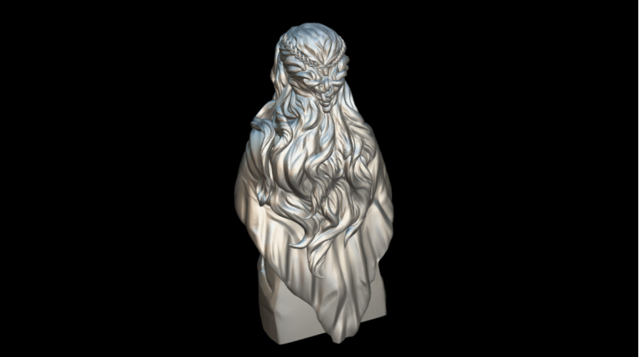Screenshot_2019-09-09 Busto Daenerys - Download Free 3D model by MundoFriki3D ( MundoFriki3D)(2).png Download free STL file Daenerys Bust • 3D printable template, MundoFriki3D