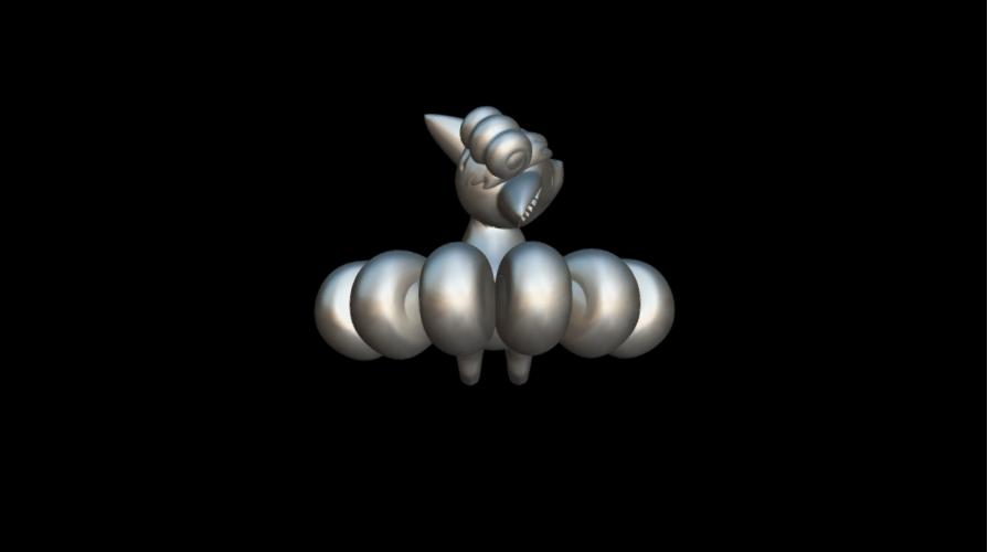 Screenshot_2019-09-09 Vulpix - Download Free 3D model by MundoFriki3D ( MundoFriki3D)(2).png Download free STL file Pokémon Vulpix • 3D printing template, MundoFriki3D
