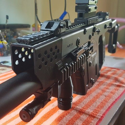 Download 3d Printing Designs Kriss Vector Handguard With