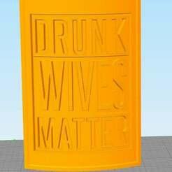 Drunk.jpg Télécharger fichier STL gratuit Les femmes ivres sont importantes • Design pour impression 3D, Diablo777Nemisis