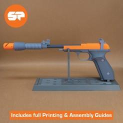 SWSB_Cults.jpg Download STL file Princess Leia Defender Sporting Blaster 3D Model - Satines Lament - 3d Printable Star Wars Pistol • 3D printer design, Shellshockedprops