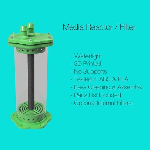 Download free 3D printer model Aquarium Filter / Media Reactor v2, fox-hamachi