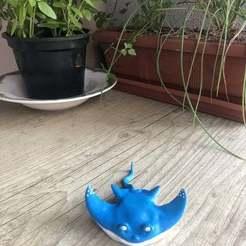 Download 3D printer templates manta ray, rottalp83
