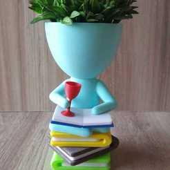 thumbnail_image1.jpg Télécharger fichier STL Livre de vases Robert • Plan à imprimer en 3D, rottalp83