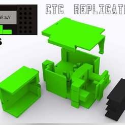 RENDER_3_copy.jpg Télécharger fichier STL gratuit Relais à l'état solide SSR télécommande (marche / arrêt) alimentation pour octopi octoptint CTC makerbot réplicateur bizer FFCP créateur • Design pour imprimante 3D, robsnave