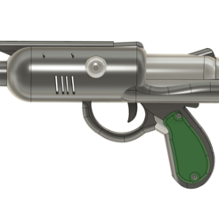 Download 3D printing templates Chrono Trigger inspired plasma pistol, DarkstarrCosplay