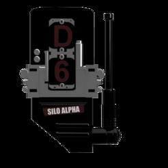 Download 3D printing designs Fallout 76 Silo Alpha Code Piece D-6, DarkstarrCosplay