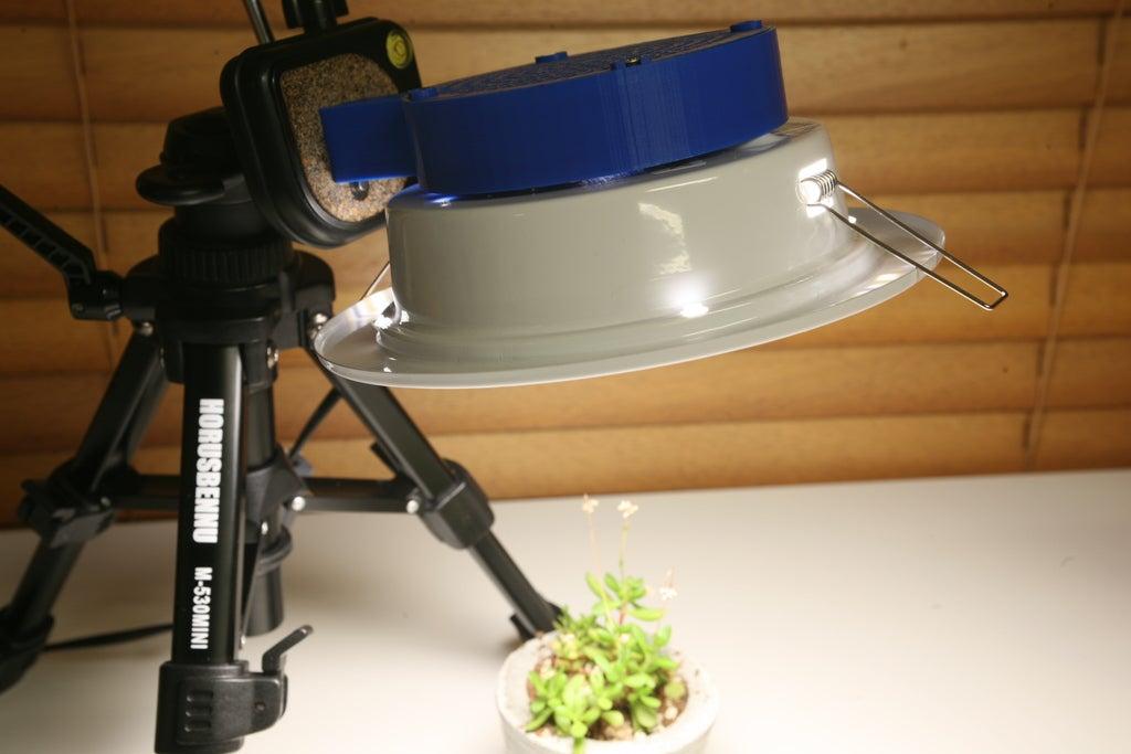 """7dd5ad9cffe45e1c9dbebdbdf4024134_display_large.JPG Télécharger fichier STL gratuit Plafonnier 6"""" Montage de la caméra lumineuse au plafond • Plan pour impression 3D, fmtuve"""