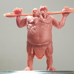 Descargar modelo 3D gratis Ettin ( Gigante Bicéfalo / Ogro ), Rise_Miniatures