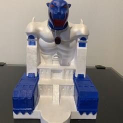 IMG_1059.JPEG Download OBJ file Thundercats Cats Lair • 3D printable design, drakegr22