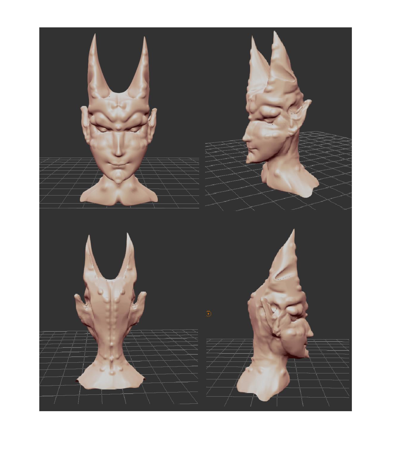 projet.png Download free STL file Demon ,devil • 3D printing design, myriette