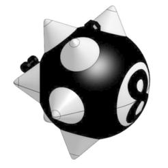 Descargar archivos 3D gratis Colgante de bola 8 de Trippie Redd, IceColdKing